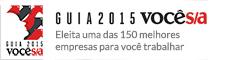 Selo 150 Melhores Empresas - Guia VC SA