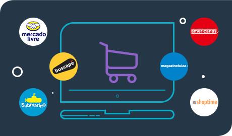 E-commerce com Integração com os maiores markplaces