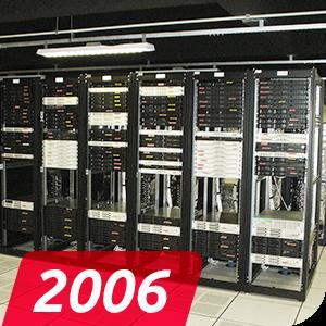 Data Center Próprio, com capacidade para 4 mil servidores